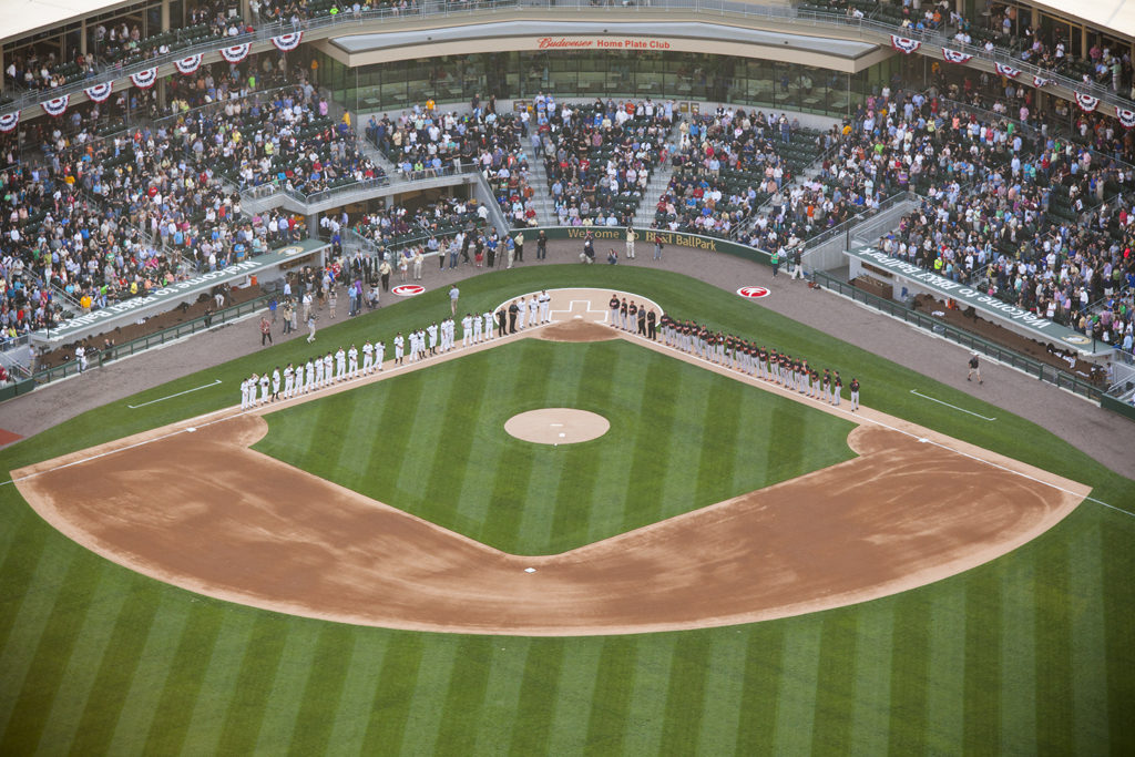 charlotte knights play opening game at bb u0026t ballpark