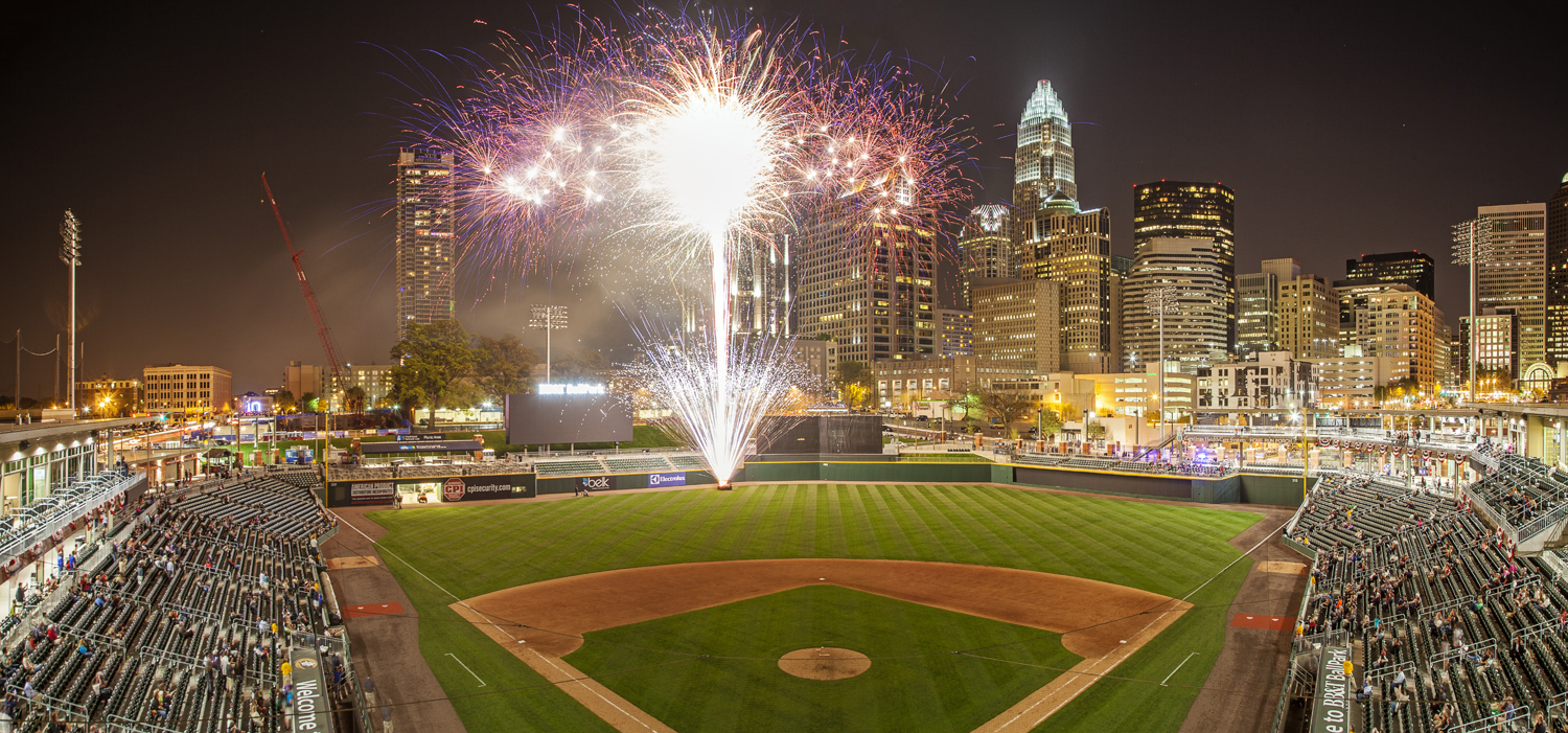 Bb t ballpark to receive 2014 best project award rodgers for Dining at bb t center
