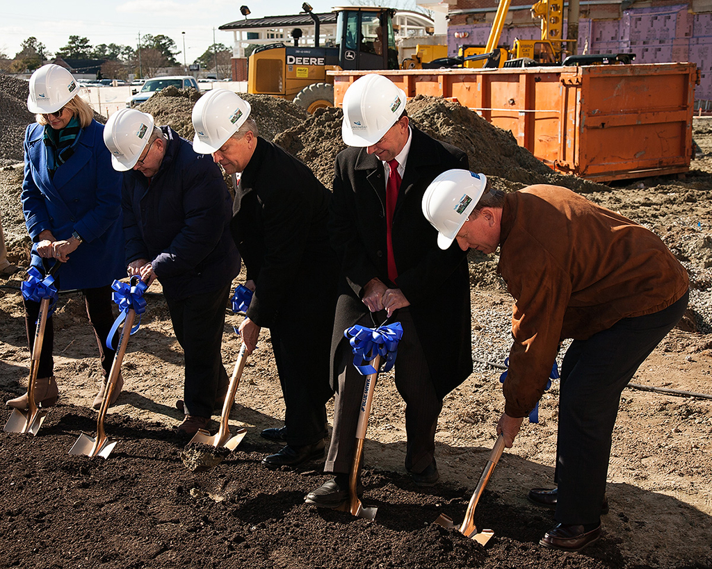 Construction Begins For New 3 Story Tower At Carolinaeast