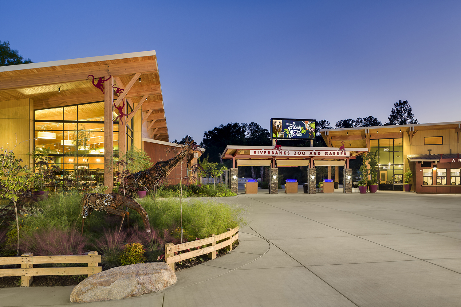 Riverbanks zoo and garden rodgers builders for Columbia at south river gardens