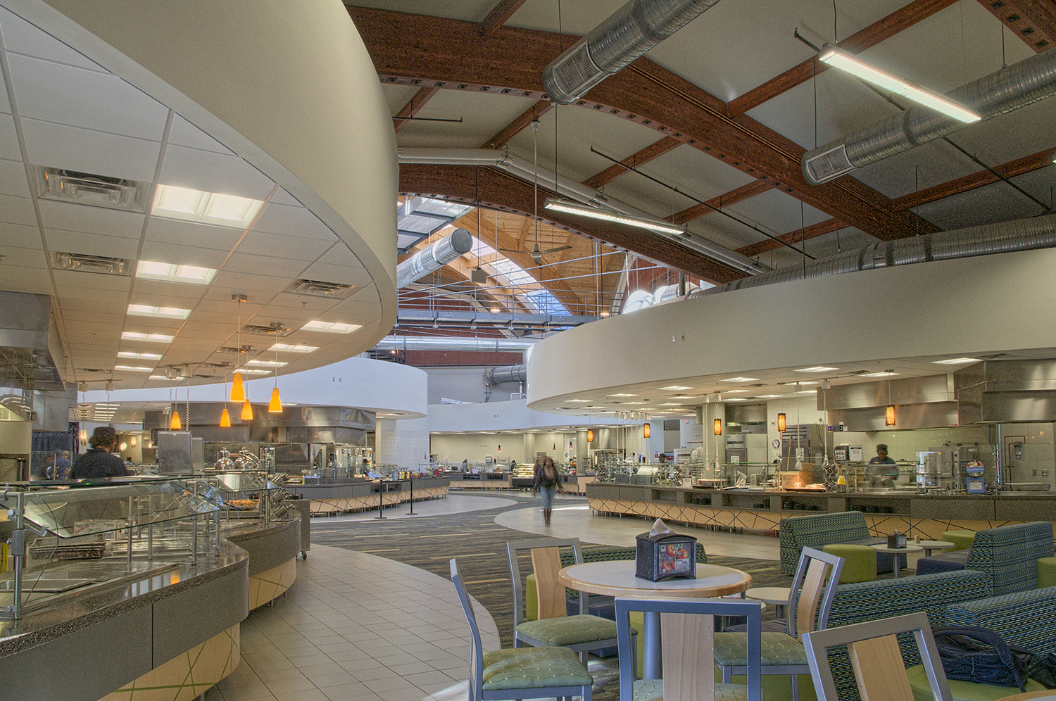 University of north carolina at greensboro rodgers builders for U of t dining hall
