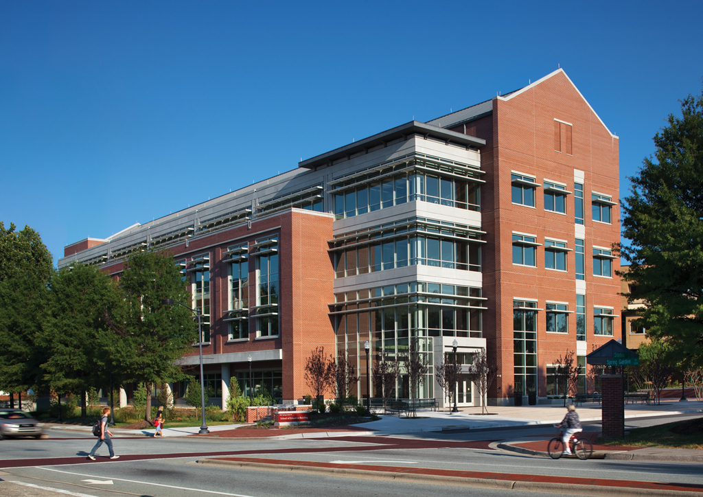 University Of North Carolina At Greensboro Rodgers Builders