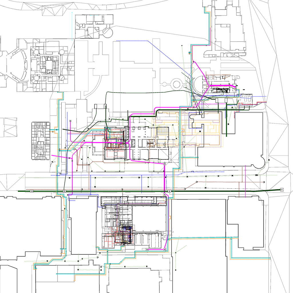 Cpcc Main Campus Map.Utility Coordination Rodgers Builders Inc